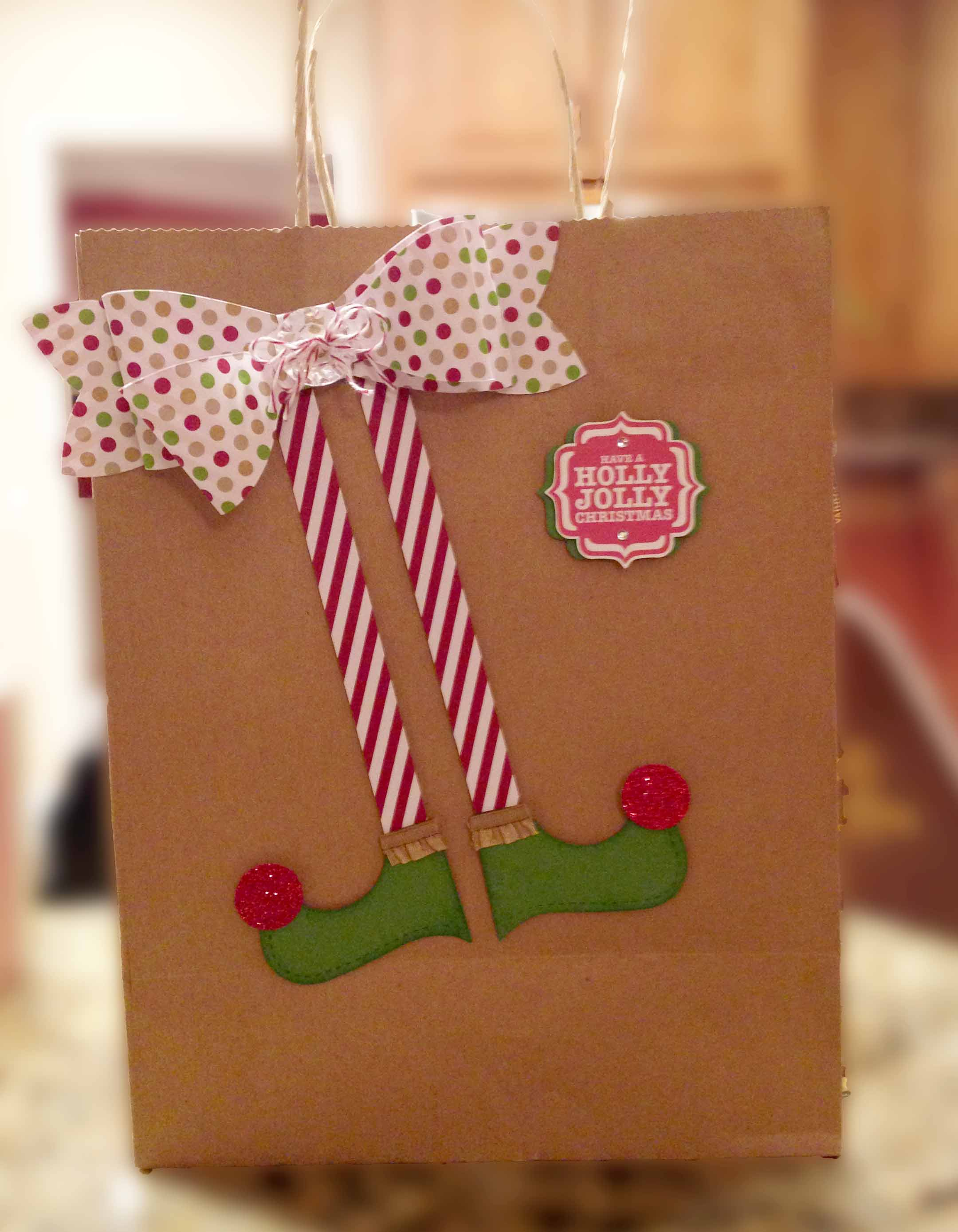 Gift Wrap Ideas - Stampin' Up! Style