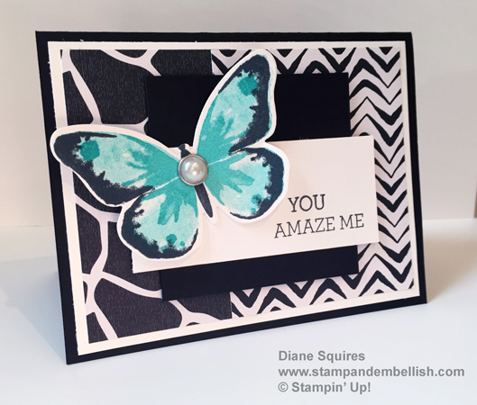 Butterfly Mojo Monday Card
