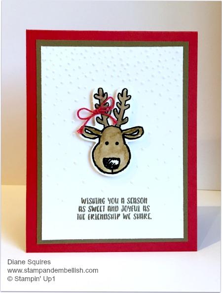 Cookie Cutter Reindeer
