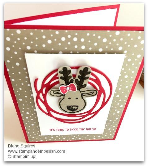 Cookie Cutter Stamp Set - Reindeer