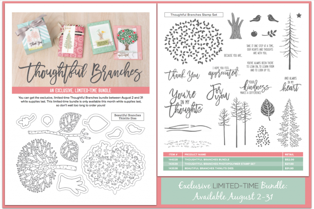Thoughtful Branches Limited Edition Stamp Set