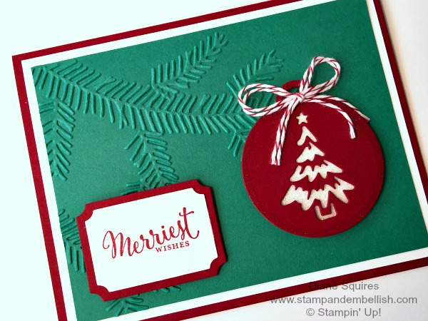 Add a Little Glimmer to Your Holiday Cards with the Merriest Wishes Bundle