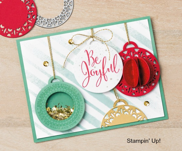 Make amazing shaker cards using the Merriest Wishes Buncle