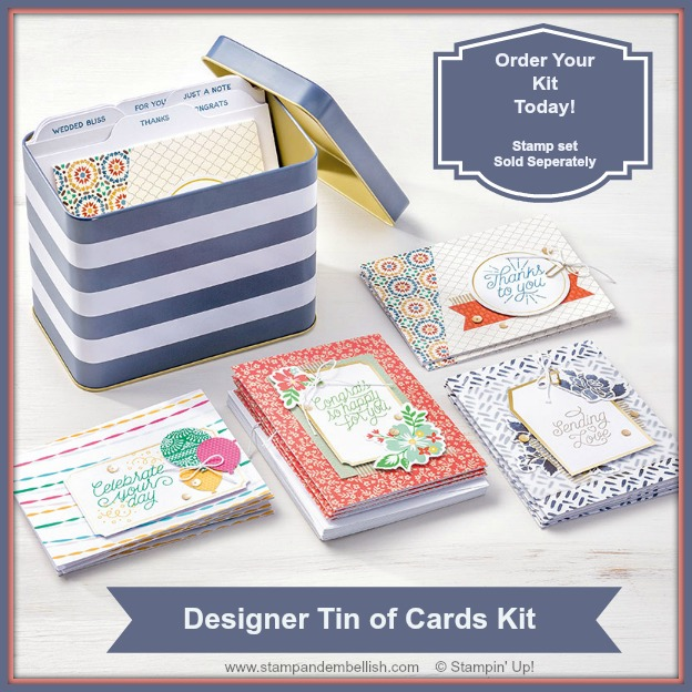 Tin of Cards Project Kit