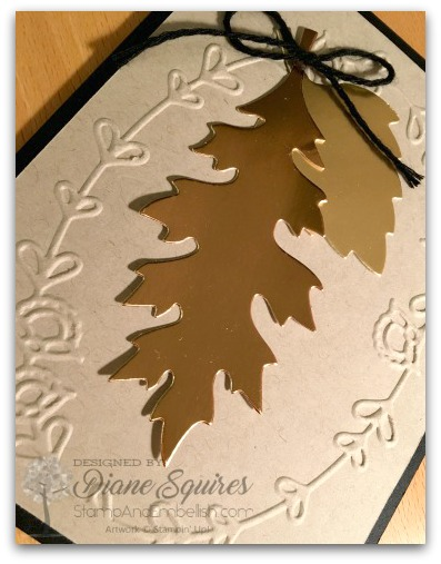 Lovin' the Stampin' Up! Copper Foil