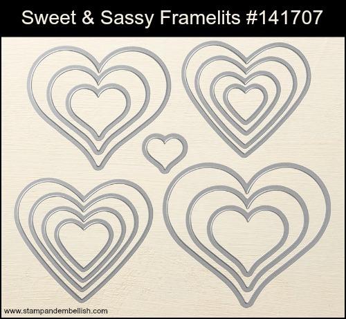 Sweet & Sassy Framelits