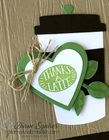Stampin' Up!'s Coffee Cafe Bundle is perfect for making even masculine cards