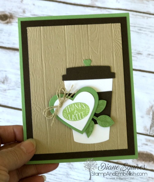 The Coffee Cafe makes the cutest cards for all the coffee lovers you know. Tuck in a little gift certificate inside and it makes a special gift