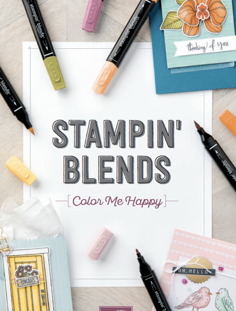 Stampin' blends - new alcohol markers by Stampin' Up!