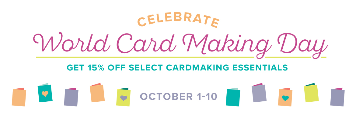 World Card Making Sales at Stampin' Up!