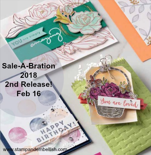 Sale-A-Bration 2nd Release Starts Feb 16 - More Free Products!