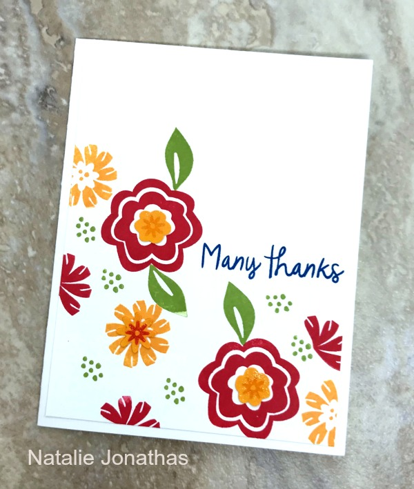 Make happiness bloom with cards and projects you make yourself using the Bloom By Bloom Stamp Bundle. Order by June 4 as it is retiring!