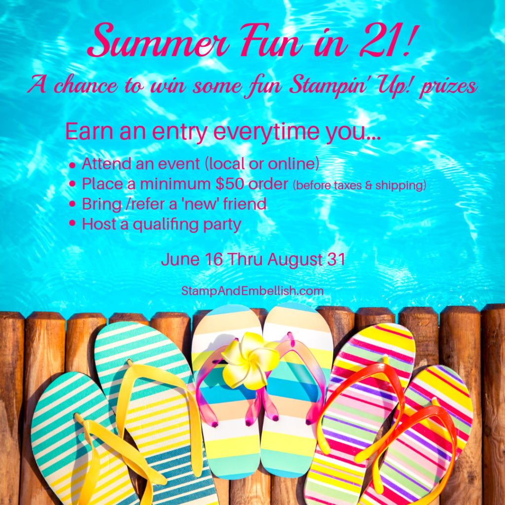 Summer Promotion - Enter to win prizes