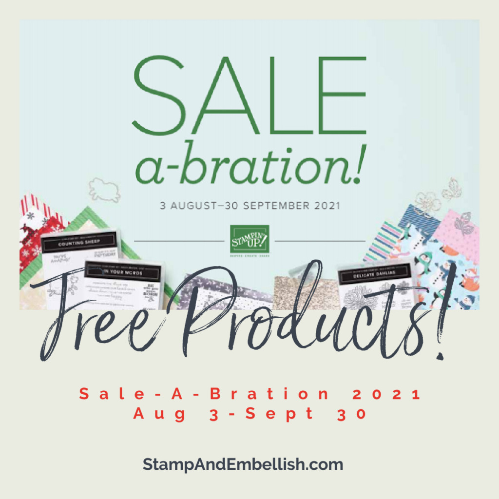 Sale-a-bration Free products