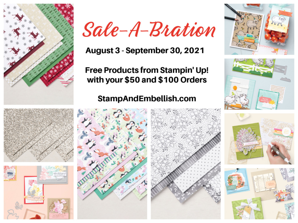 Free Sale-a-bration products